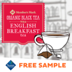 FREE Member's Mark Organic English Breakfast Tea Sample at Sam's Club