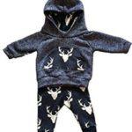Infant Baby Boys Deer Long Sleeve Hoodie Deal On Amazon!