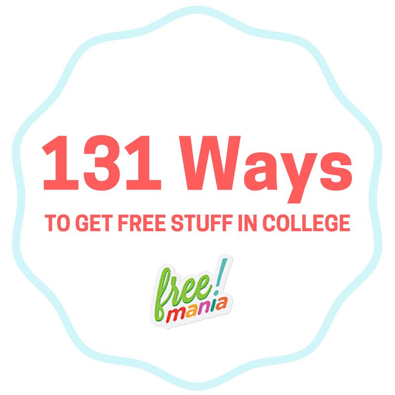 free stuff in college