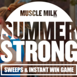 Muscle Milk Brand Summer Strong Sweepstakes & Instant Win Game
